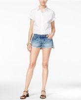 Joe's Jeans Ozzie Frayed Denim Shorts