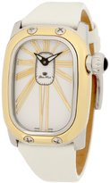 Glam Rock Women's GK2000 White Leather Watch