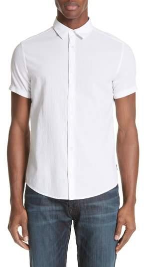 Emporio Armani Regular Fit Short Sleeve Sport Shirt