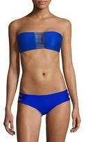 Mikoh Swimwear Sunset String Bandeau Bikini Top