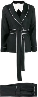Parlor Pintstripe Trouser Suit