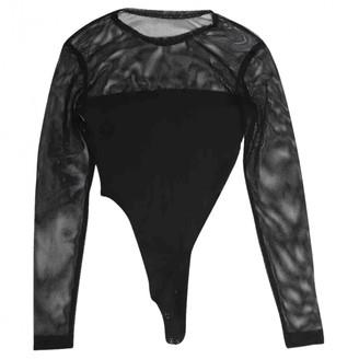 Plein Sud Jeans Black Cotton Top for Women