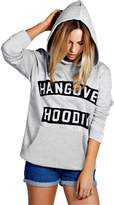 Hai Le Vogue New Girls Ladies Hangover Hoodies Print Ladies Top Neon Sweatshirt Size S - 5XL