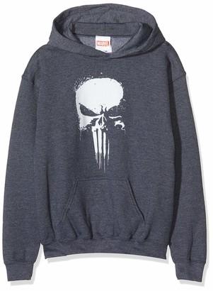 Marvel Girl's Knights Paintspray Skull T-Shirt