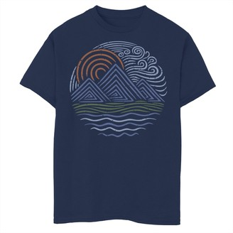 Fifth Sun Boys 8-20 Outdoor Waves Graphic Tee