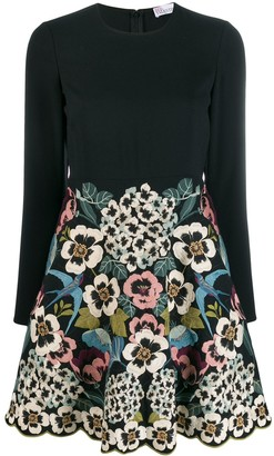 RED Valentino RED(V) embroidered dress