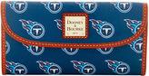 Dooney & Bourke NFL Titans Continental Clutch