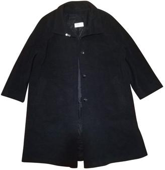 Basler Grey Wool Coat for Women