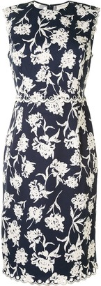 Sachin + Babi Lillie floral-print faille dress