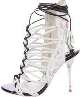 Sophia Webster Floral Cage Sandals