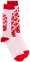 Henrik Vibskov patterned ankle socks - unisex - Cotton/Spandex/Elastane/Nylon - One Size