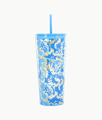Lilly Pulitzer Tumbler With Straw