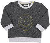 Ikks Cotton-Blend Jacquard Sweatshirt