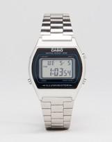 Casio Digital Watch In Silver B640WD