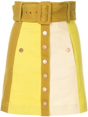 Alice McCall Chelsea Hotel denim mini skirt