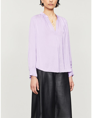 Zadig & Voltaire Tink crepe blouse
