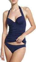 Tommy Bahama Pearl Underwire Tankini Swim Top, Navy