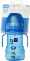 Mam Feeding Trainer with Handles, 8 Ounce, Blue