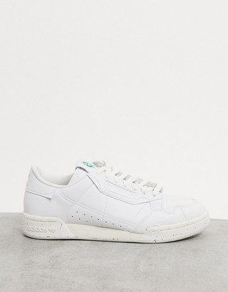 adidas Clean Classics Sustainable Continental 80 trainers in white