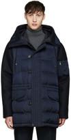 Moncler Navy Montemart Down Jacket
