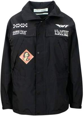 Off-White Off White Black Synthetic Jackets