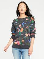 Old Navy Printed French-Terry Sweatshirt for Women