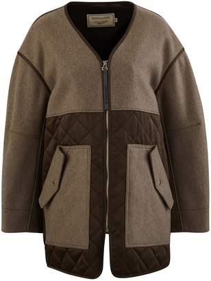 MAISON KITSUNÉ Quilted coat