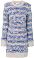 Stella McCartney Fairisle patterned knit dress