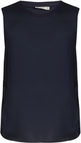 Vince Sleeveless silk tank top