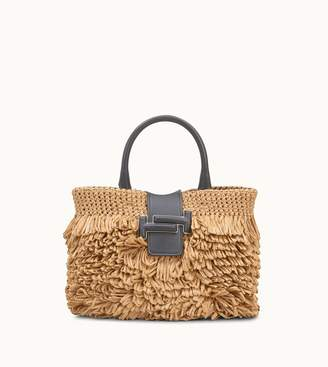Tod's Tods Double T Shopping Bag Mini