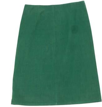 Miu Miu Green Cotton Skirt for Women