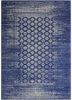 """Blue Area Bashian Audrey Dark Rug, 5'x7'6"""""""