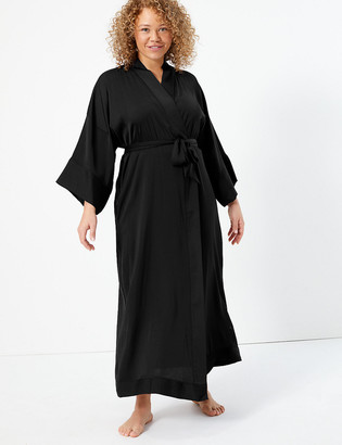Marks and Spencer Satin Long Dressing Gown