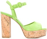 Le Silla platform sole chunky heel sandals