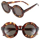 Wildfox Couture Women's 'Bel Air' 44Mm Sunglasses - Black