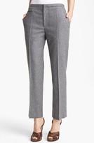 Marc Jacobs Wool Flannel Crop Pants