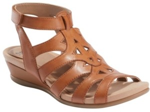 Earth Women's Pisa Chatham Low Wedge Sandal Women's Shoes