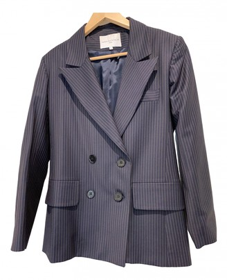 Carolina Ritzler Blue Wool Jackets