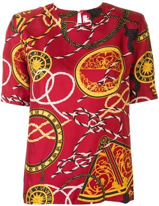 Céline Pre-Owned pre-owned symbols print T-shirt