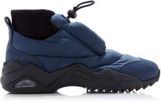 Maison Margiela Suede-Trimmed Puffer Sneakers