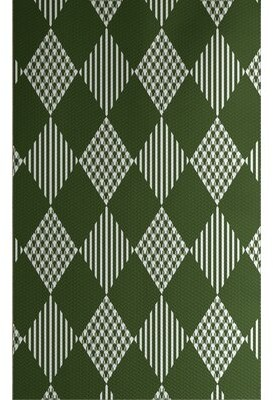 The Holiday Aisle Christmass Handwoven Green/White Rug Rug Size: Rectangle 2' x 3'