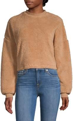 Bardot Faux Fur Sweatshirt