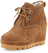 See by Chloe Ethel Shearling-Lined Suede Desert Boot