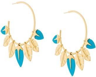 Aurélie Bidermann Talitha turquoise earings