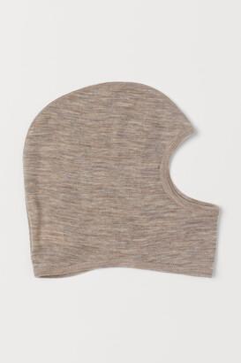 H&M Wool Balaclava - Brown