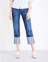 MiH Jeans Tomboy skinny boyfriend mid-rise jeans