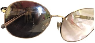 Burberry Beige Metal Sunglasses