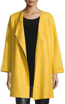 Caroline Rose Lana Fantasia Topper Coat, Plus Size
