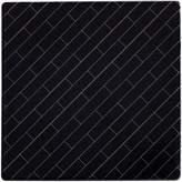 Maxwell & Williams Tessellate Ceramic Tile Coaster, Avenue, Black