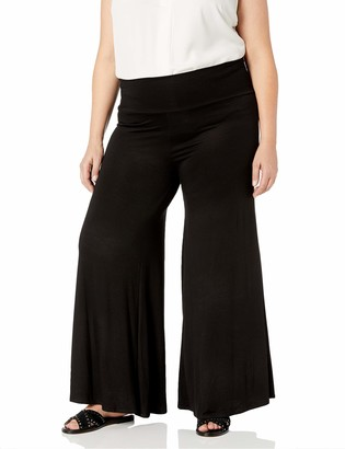 Star Vixen Women's Plus-Size Wide-Leg Palazzo Pant